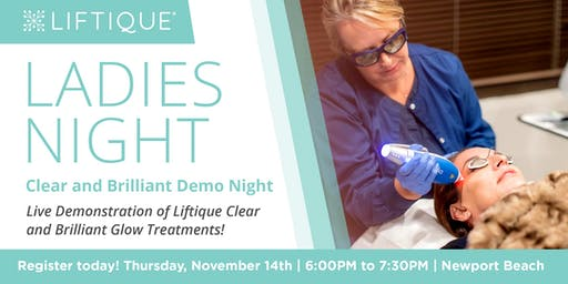 Liftique Ladies Night- Clear and Brilliant Demo Night