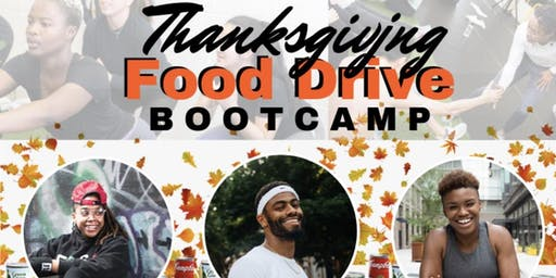 Thanksgiving Food Drive Bootcamp