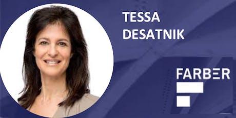 TORONTO SPEAKER SERIES - TESSA DESATNIK - NOVEMBER 26, 6-9PM tickets