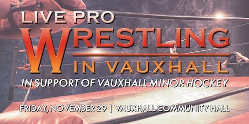 PPW Live in Vauxhall (In Support of Vauxhall Minor Hockey)