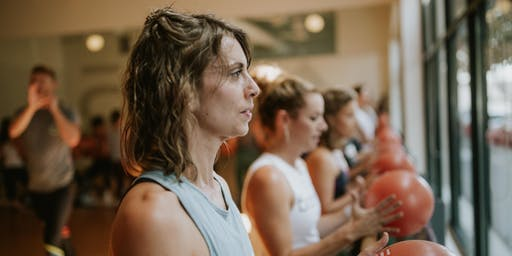 Barre3 West Chester Soft Opening Class with Lindsey