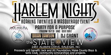 Harlem Nights, Roaring Twenties- A Masquerade Event tickets