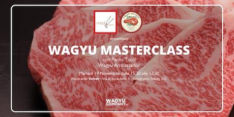 Masterclass Wagyu biglietti