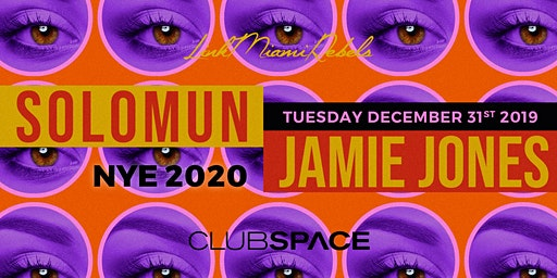 NYE w/ Solomun & Jamie Jones