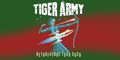 Tiger Army - RETROFUTURE TOUR 2020