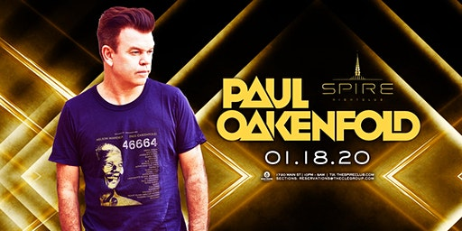 Paul Oakenfold / Saturday January 18th / Spire