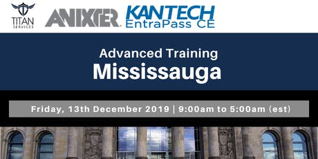 Mississauga Advanced Kantech Training - Anixter tickets