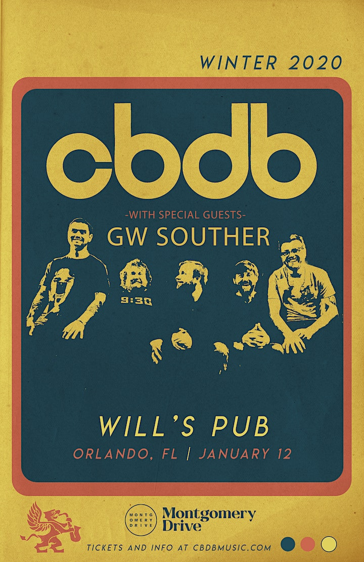 CBDB w/ Special Guests GW Souther image