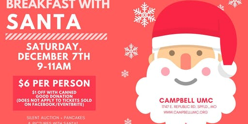 Breakfast With Santa - Small Wonders Fundraiser