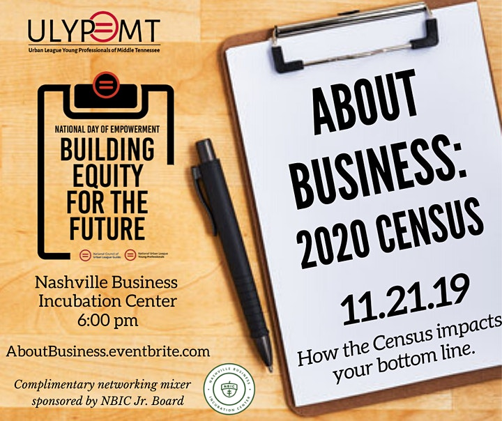 About Business: Census 2020 image