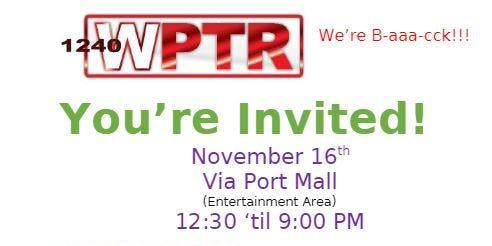 WPTR Radio Official Launch Party!