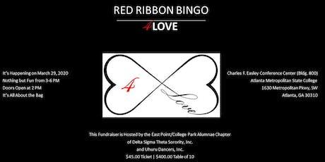 RED Ribbon Bingo 4LOVE tickets