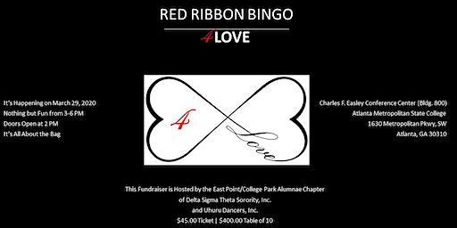 RED Ribbon Bingo 4LOVE