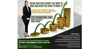 Make Money from Your Phone!- A Forex Informational Event