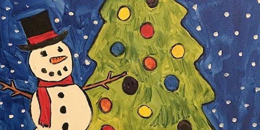 Mom and Me Christmas Painting
