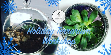 Holiday Terrarium Workshop tickets