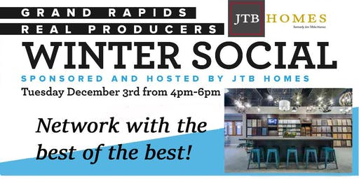 Grand Rapids Real Producers Winter Social Partner Invite!