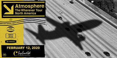 Atmosphere – The Wherever North American Tour at Cargo Concert Hall tickets