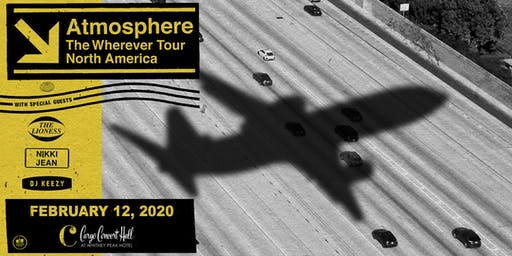 Atmosphere – The Wherever North American Tour at Cargo Concert Hall