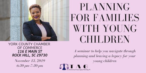 Planning for Families with Young Children