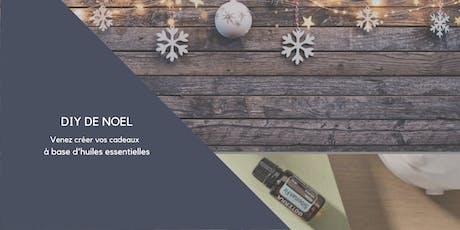 DIY de Noël avec les huiles essentielles billets