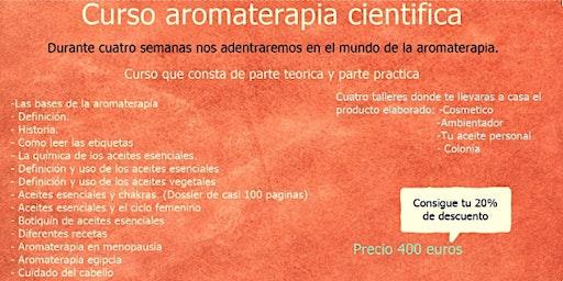 Curso Aromaterapia Cientifica.