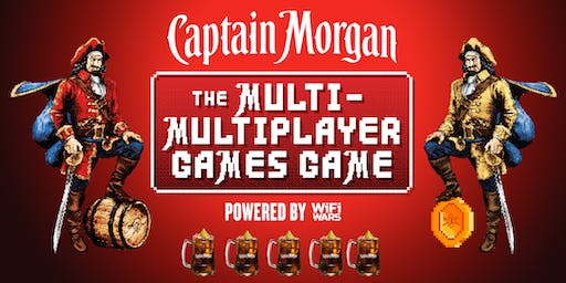 Captain Morgan: The Multi-Multiplayer Games Game Brighton!
