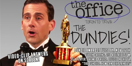 Toronto Dundie Awards (2nd Annual): The Office Trivia! tickets
