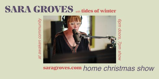 Sara Groves' Hometown Christmas show with Tides of Winter!