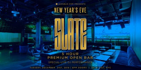 Slate New Years Eve 2020 Party tickets