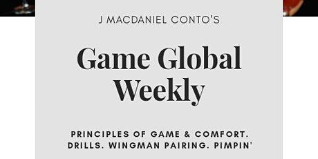 Game Global Nyc Weekly Meetup tickets