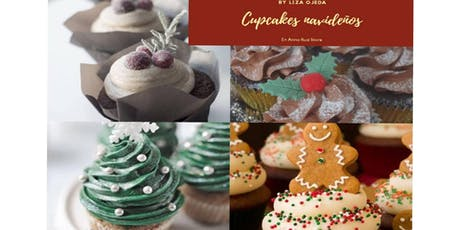 Cupcakes Navideños con la Chef Liza Ojeda en Anna Ruíz Store entradas