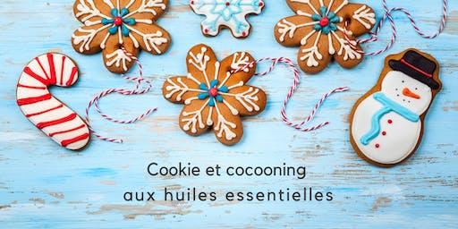 Cookie et cocooning avec les huiles essentielles