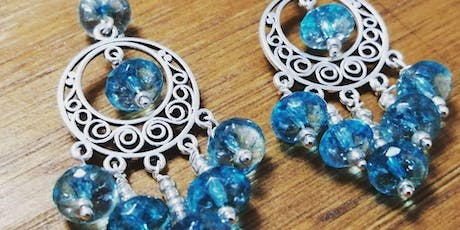 Half Day Wire Wrapping Gemstone Earrings tickets