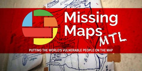Missing Maps Montreal tickets