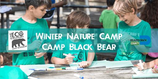 Winter Nature Camp - Camp Black Bear Week 2