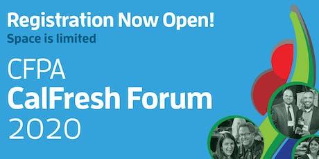 2020 CalFresh Forum tickets