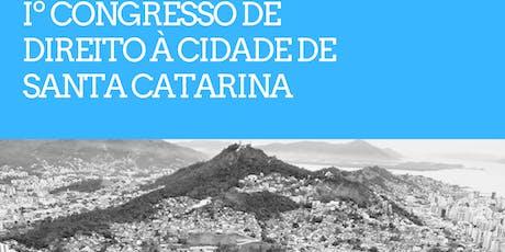 I Congresso de Direito a Cidade de Santa Catarina ingressos