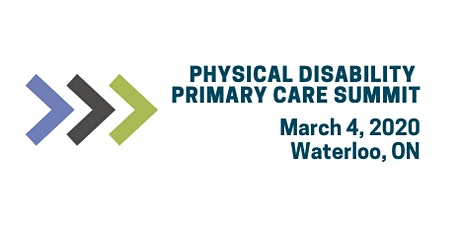 2020 Physical Disability Primary Care Summit tickets