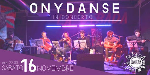 Onydanse in Concerto