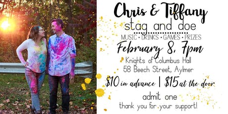Chris & Tiffany's Stag and Doe tickets