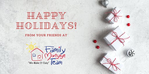 Family Mortgage Holiday Gift Wrapping: Clients and Business Partners