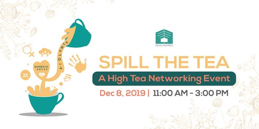 Spill the Tea: A High Tea Networking Event
