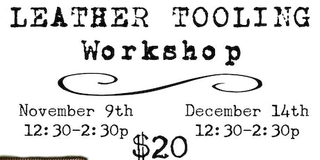 Leather Tooling Workshop tickets