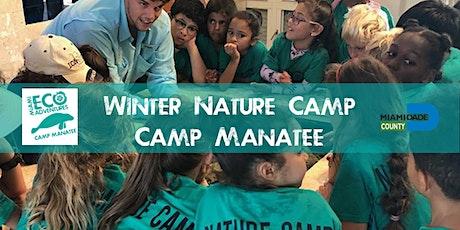 Winter Nature Camp - Camp Manatee Week 1 tickets