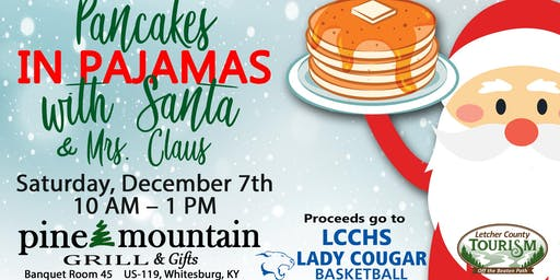 Pancakes in Pajamas with Santa and Mrs. Claus