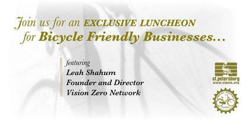 Vision Zero Luncheon for Bicycle Friendly Businesses