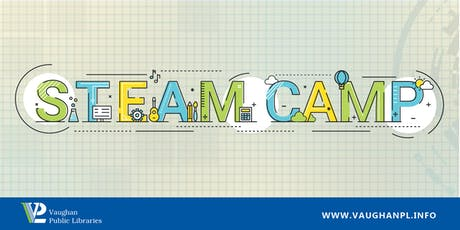 STEAM Camp: Drop and Shop at Civic Centre Resource Library tickets