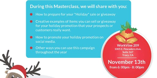 Increase Your Revenue with Holiday Promotions with Cindy Morus