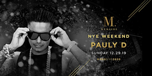 Pauly D at Mémoire